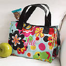 CLICK HERE - see large lunch tote, insulated coolers and bag collection (personalized with monogram name or initials)